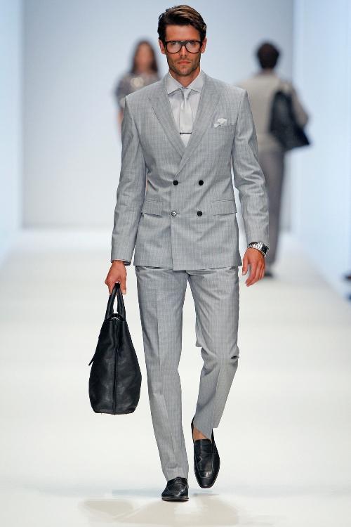 Zweireiher mit kurzer Anzug-Jacke von BossBlack