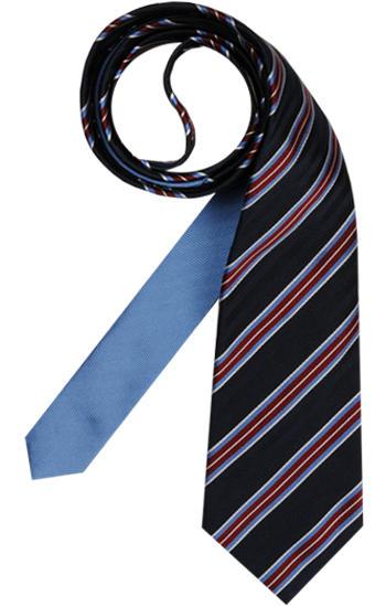 Krawatte Blau-Rot-gestreift von Tommy Hilfiger