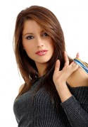Haare glätten zur attraktiven Frisur mit glatten Haaren