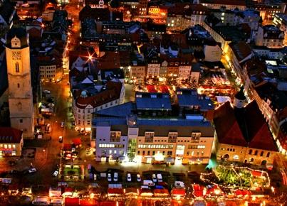 Adventszeit - hier auf dem Weihnachtsmarkt in Jena
