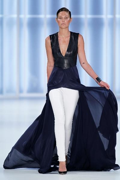 Mode von HUGO zur Fashion Week Berlin 2011 für den Sommer 2012
