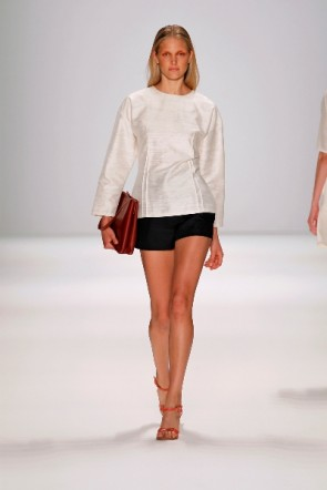 Perret Schaad zur Mercedes Benz Fashion Week Berlin Juli 2011