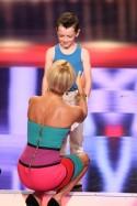 Sylvie van der Vaart mit Maik Ortmann beim Supertalent 2011 - Foto: (c) RTL / Stefan Gregorowius