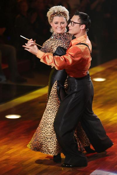Gitte Haenning bei Let's dance 2012 mit Gennady Bondarenko  - Foto: (c) RTL / Stefan Gregorowius