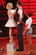Sylvie van der Vaart bei Let's dance 2012 mit Lars Riedel und Marta Arndt - Foto: (c) RTL / Stefan Gregorowius