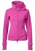 Bench Funnel Neck Fleecjacke Pink