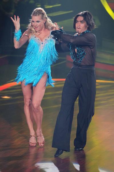 Magdalena Brzeska und Erich Klann in Show 7 von Let's dance 2012 - Foto: (c) RTL / Stefan Gregorowius