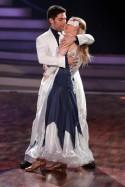Chrstian Polanc und Joana Zimmer beim vorletzten Tanz für Lets dance 2012 - Foto: (c) RTL / Stefan Gregorowius
